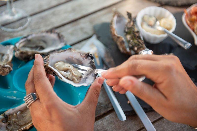 degustation d'huîtres